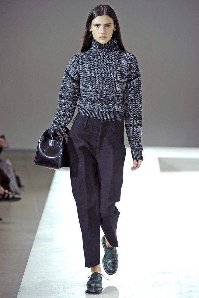 Jil Sander Rtw Fall 2014 Fashion Knitwear Inspiration Fashion Designers Famous