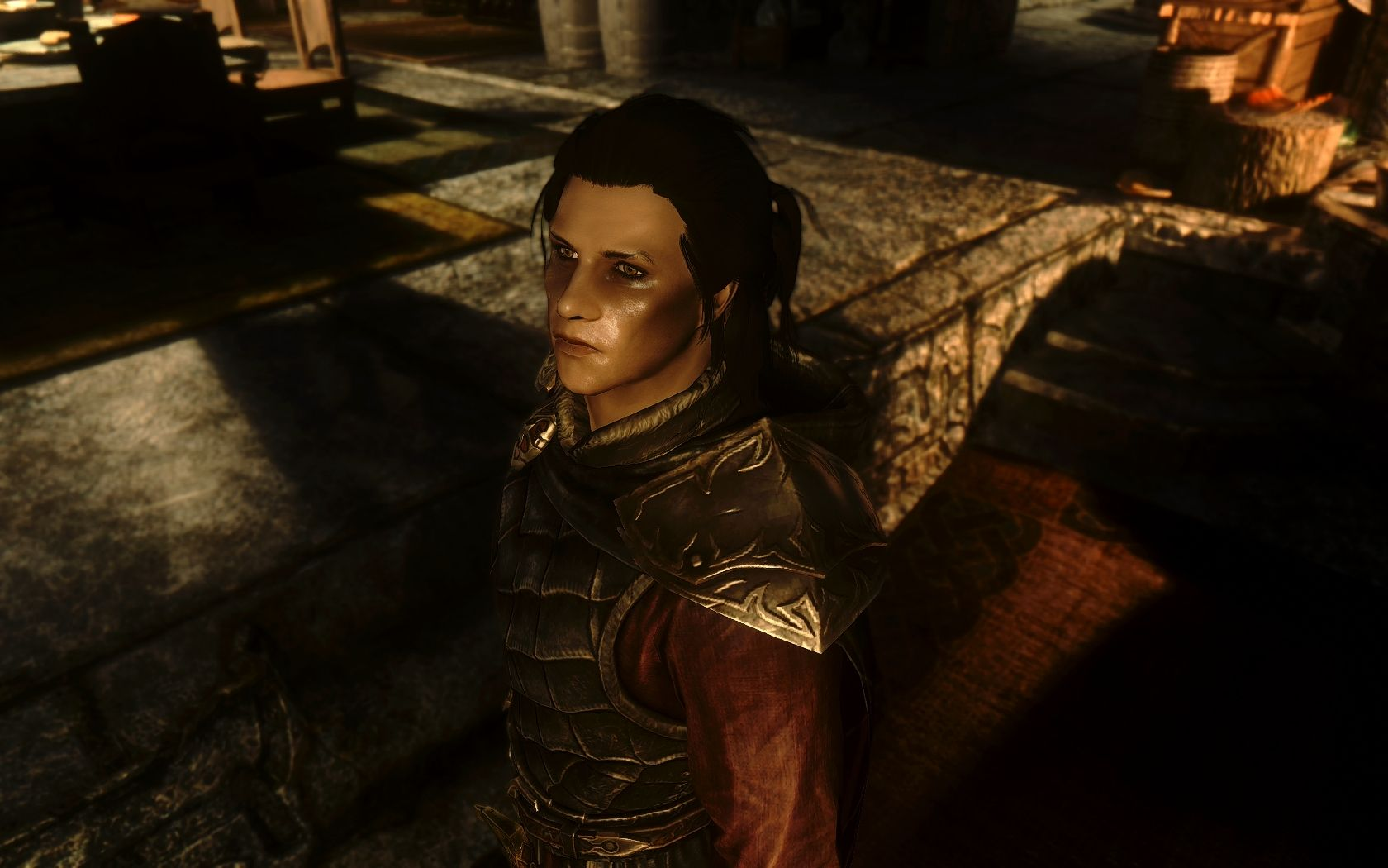 Seran - vampire protagonist is male (Serana replacement) at Skyrim