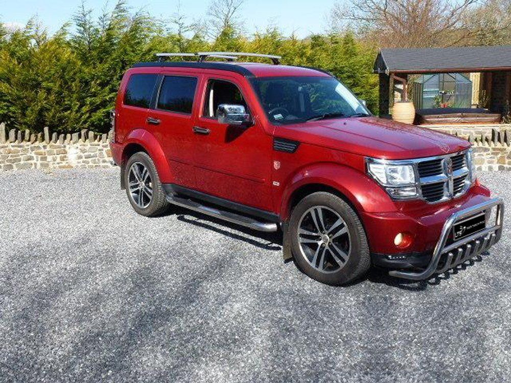 Dodge Nitro Stainless Steel Chrome Nudge A Bar Bullbar 2007