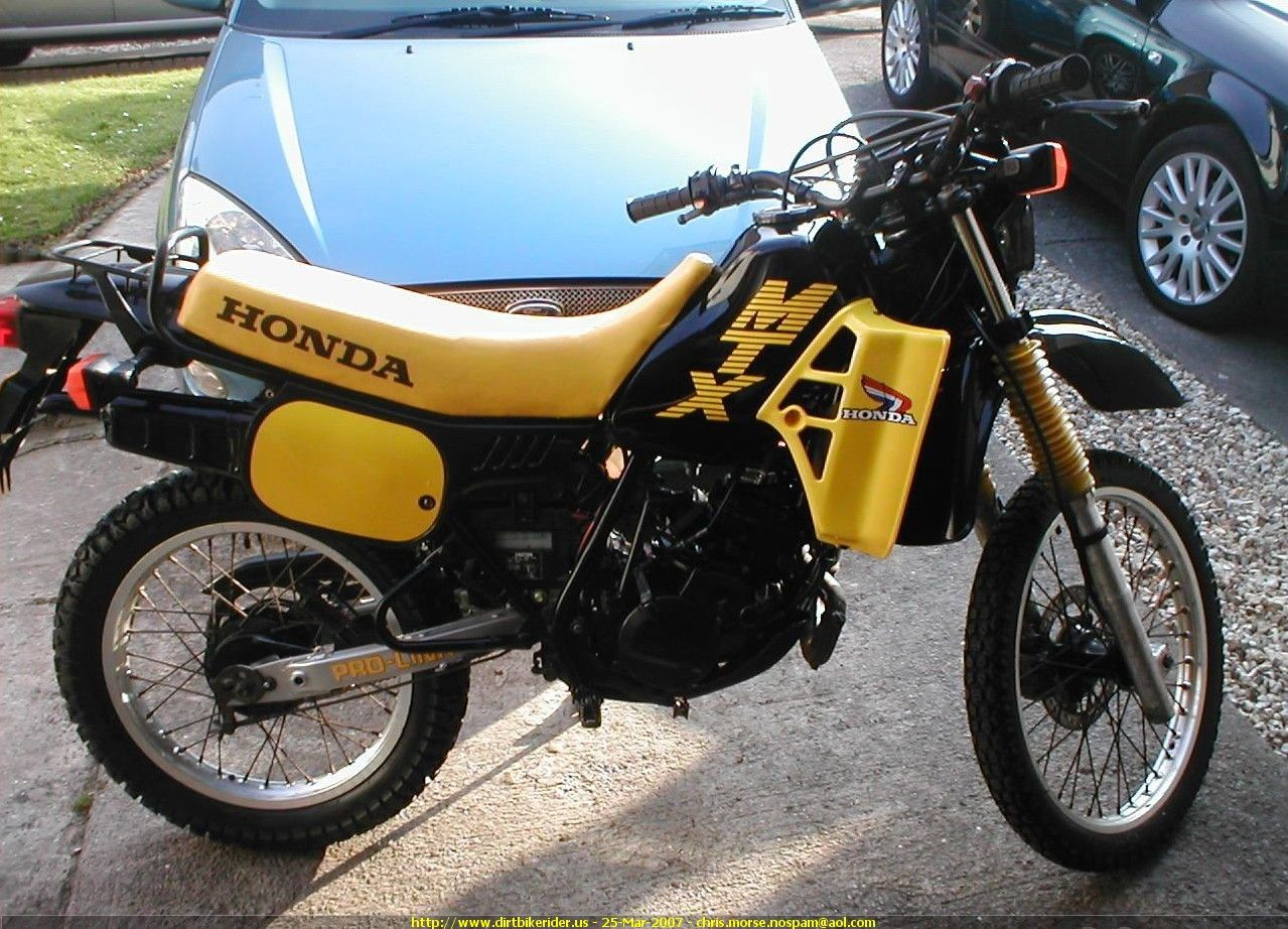 honda mtx 125 2 wheeler world enduro motorcycle honda. Black Bedroom Furniture Sets. Home Design Ideas