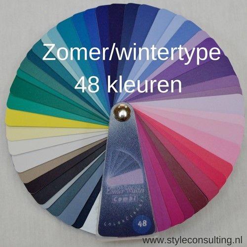 kleurenwaaier kleding