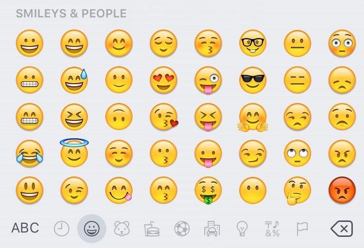 Ios 9 1 Includes New Emojis Emoji Keyboard Secret Emoji Emoji