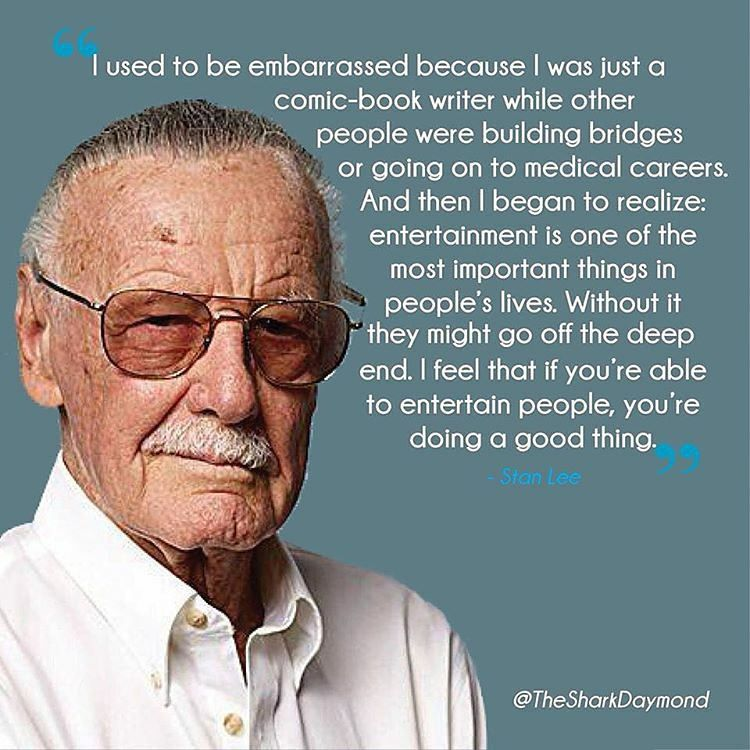 Thechriscormier Stan Lee Quotes Stan Lee Comic Book Writer