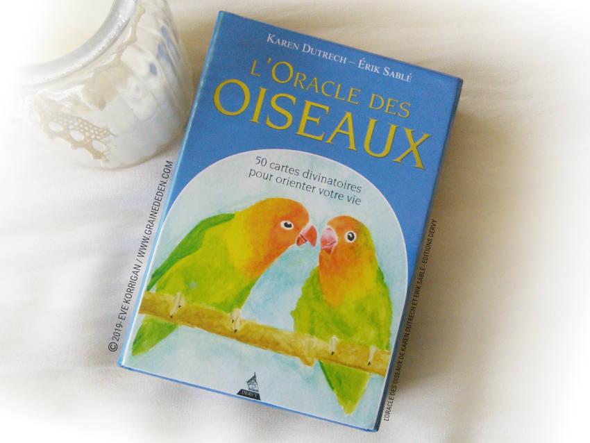 L Oracle Des Oiseaux De Karen Dutrech Et Erik Sable Carte Divinatoire Tarot Carte Tarot Divinatoire