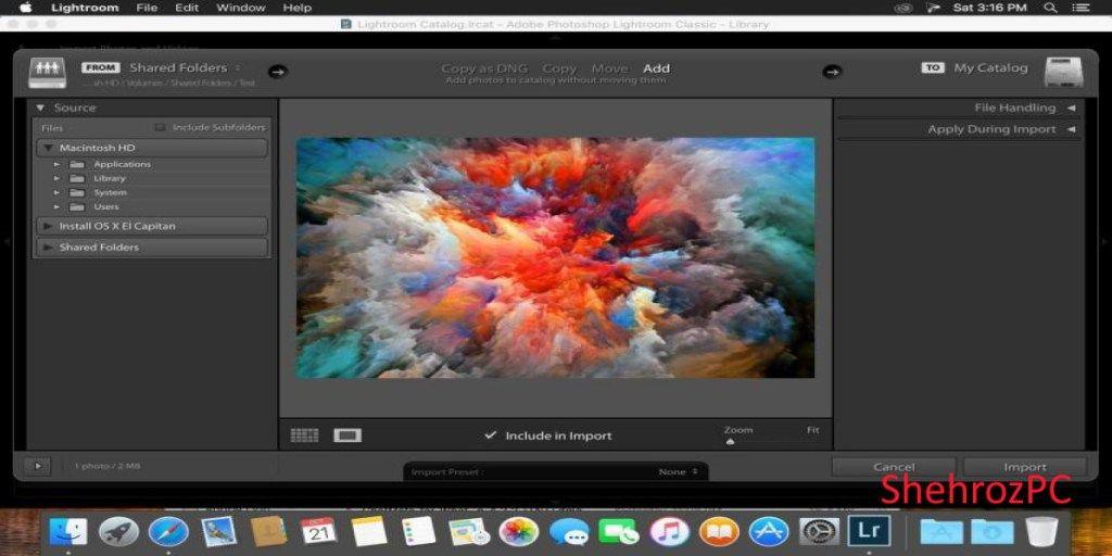 Lightroom use graphics processor