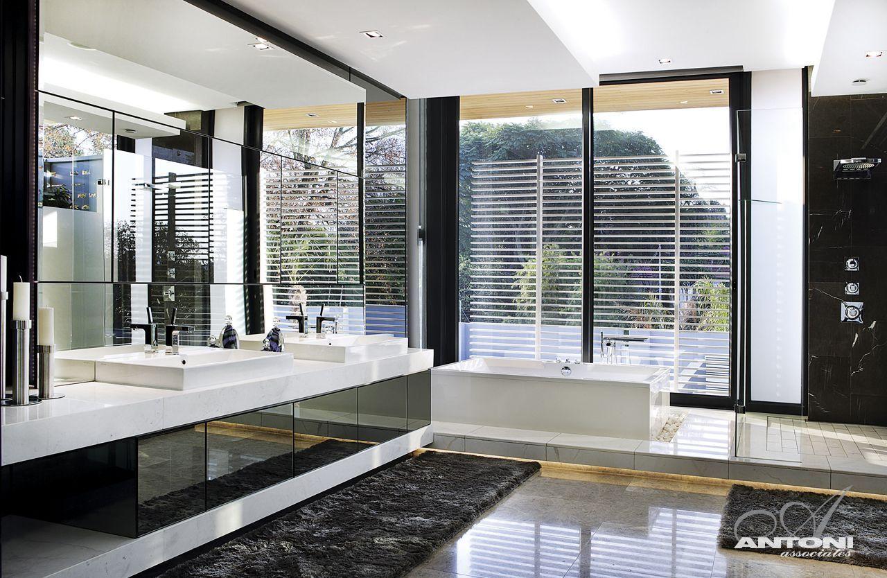 Bright and airy bathroom design wwwsteamshowersinccom Bright