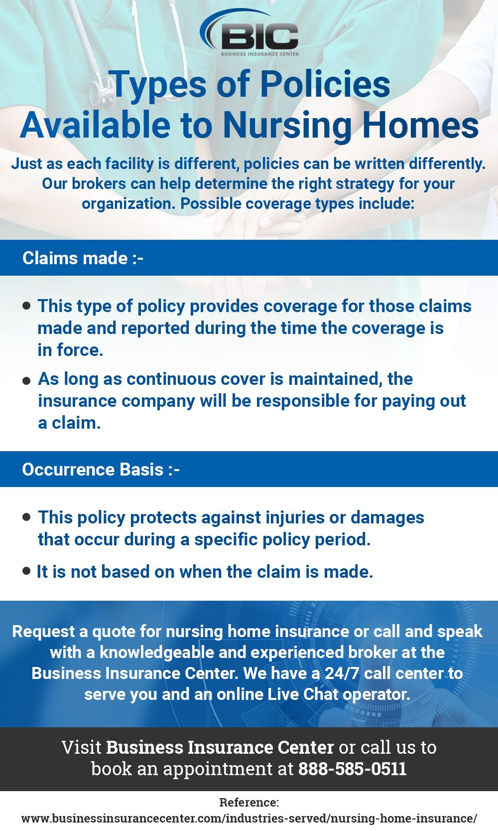 Work With The Expert Brokers At Business Insurance Center To Make
