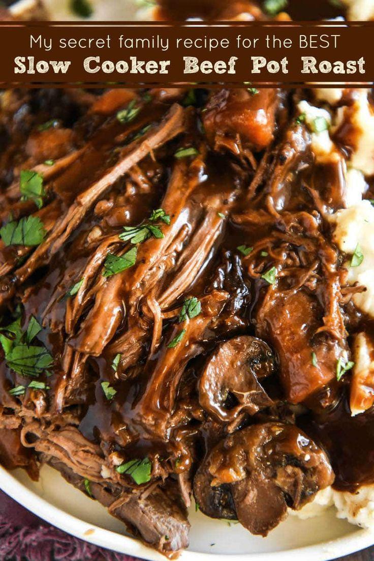 Make the BEST Crockpot Pot Roast with this Secret Family Recipe!