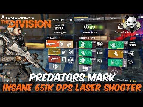 The Division 16 Striker Build - Bullfrog 800 000 High DPS! Tom - best of blueprint vendors the division