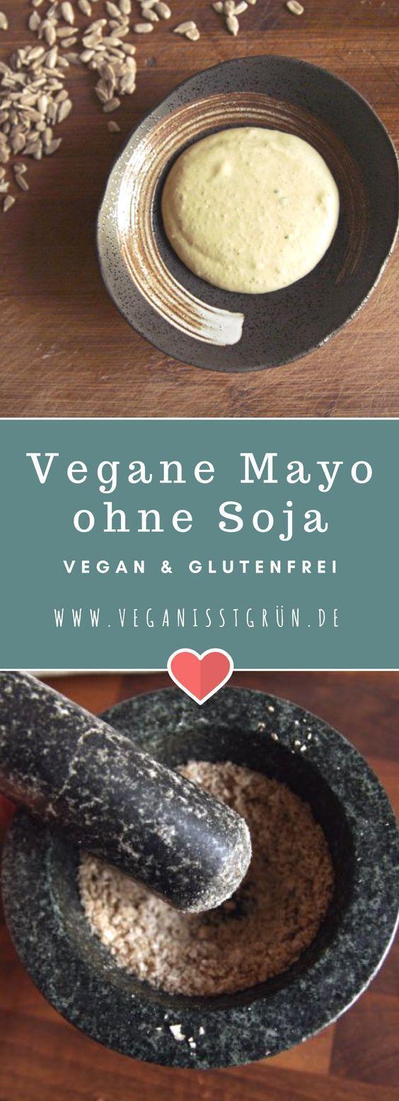 Mayo gehört zu Pommes wie die Lederhose zum Oktoberfest. Aber leider sind fast alle Rezepte mit Soja. Dabei gibt es viele Menschen, die Soja nicht vertragen, oder meiden möchten. Doch dieses Rezept für vegane Mayo ist endlich frei von Soja. Dazu vegan und glutenfrei.
