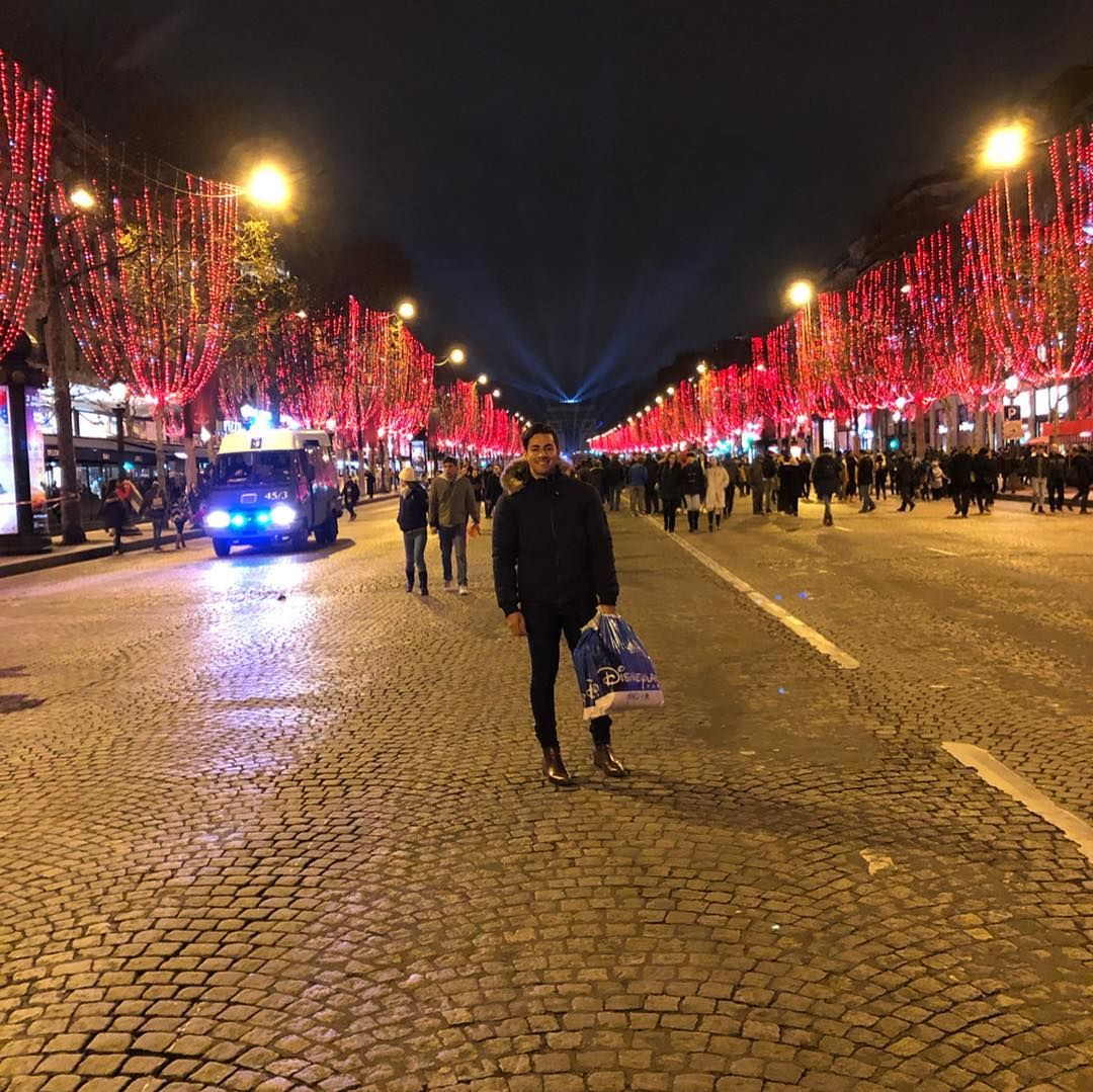 New Years Eve 2018 at the arcdetriomphe after a long day