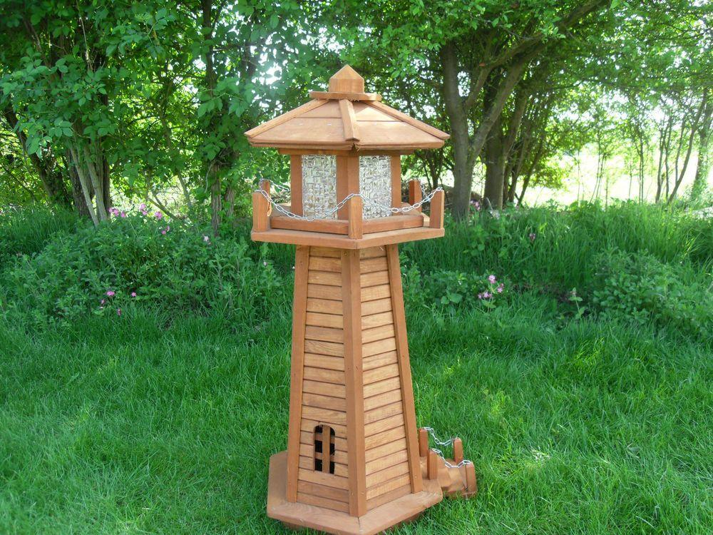 Superbe Wooden Garden Lighthouse/Garden Ornaments/ Christmas Present/ Great Gift In  Garden U0026 Patio, Garden Ornaments, Other Garden Ornaments | EBay