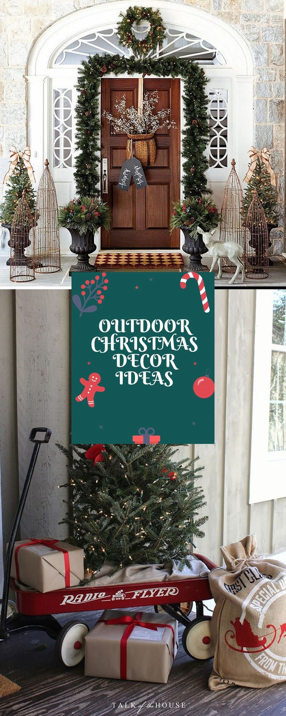 Outdoor Christmas Decorations Diy Ideas Christmas Decorations Diy Outdoor Outdoor Christmas Outdoor Christmas Decorations