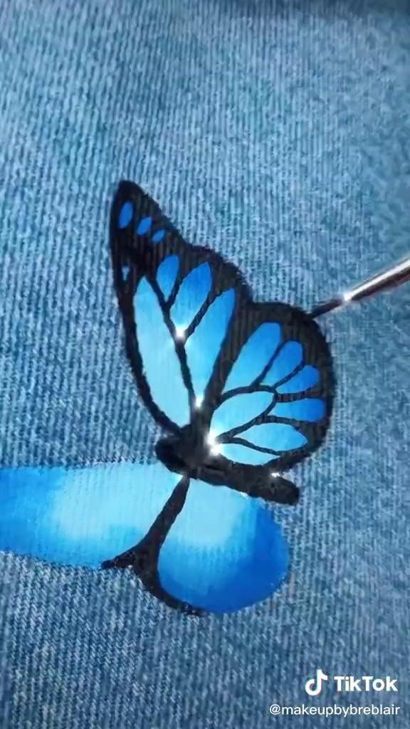 Butterfly pants- diy 🦋