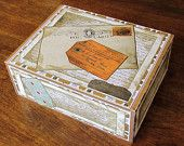 New life for old cigar boxes. Includes 4 matching cards