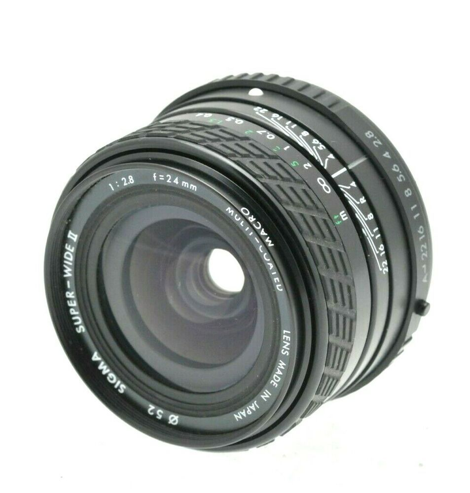 Sigma 24mm F 2 8 Super Wide Ii 1 4 Macro A Lens Pentax Ka K7 Pka K 1 Full Frame Camescope Photos Objectif