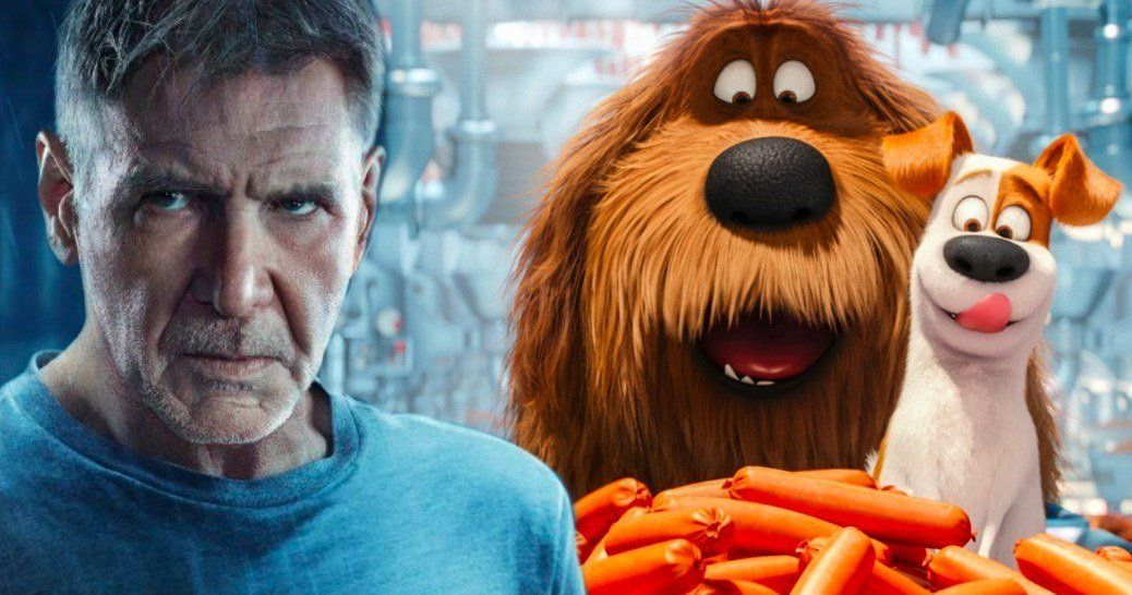 Harrison Ford Takes On First Animated Movie In Secret Life Of Pets 2 Harrison Ford Secret Life Of Pets Animated Movies