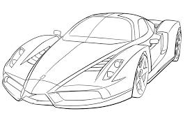Resultado De Imagem Para Fotos De Ferrari Para Colorir Carros