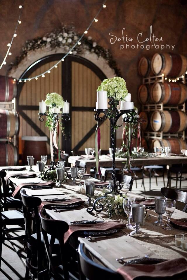 Lovely Setting For A Medieval Themed Wedding Reception Venue Blue