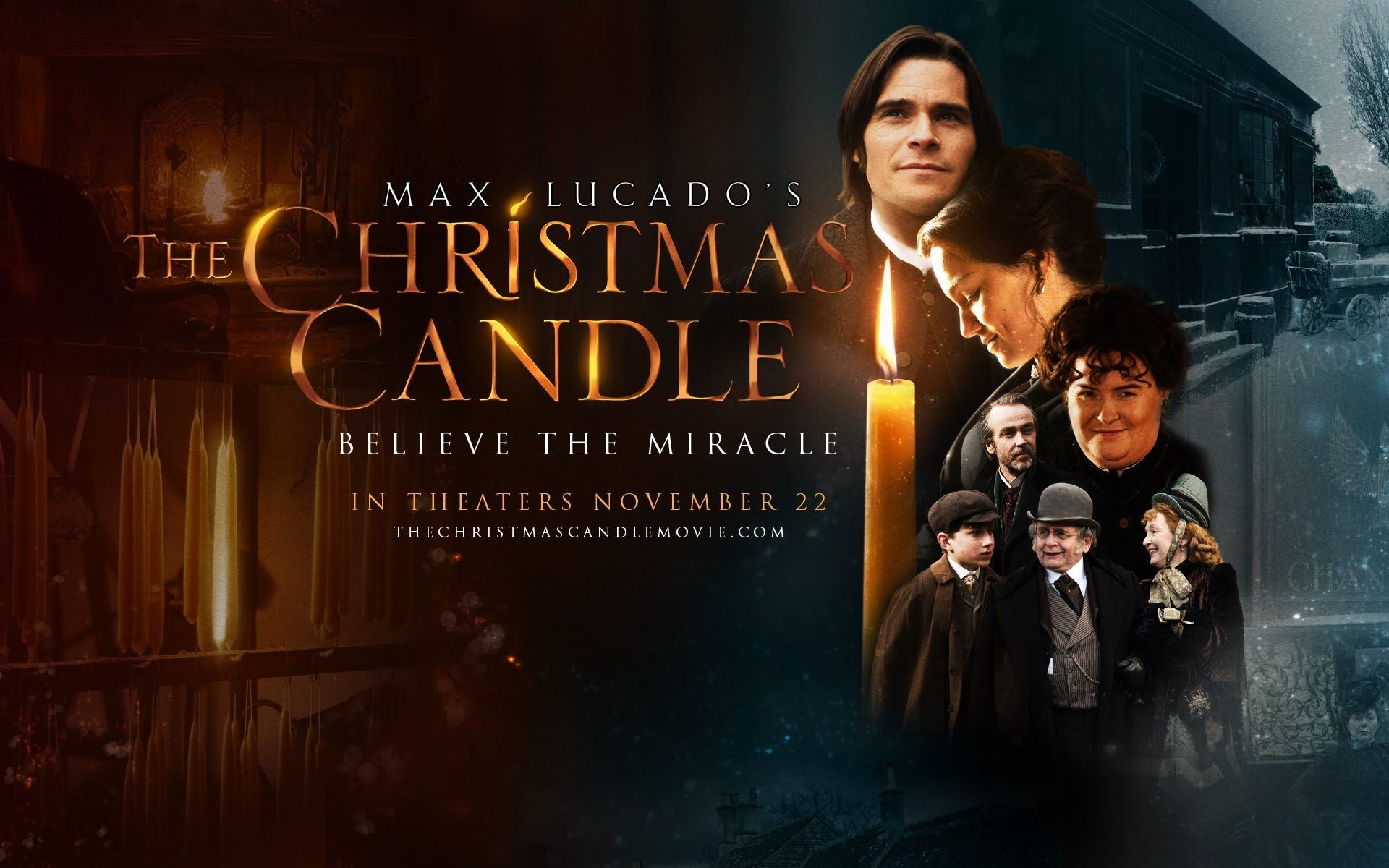 The Christmas Candle In Theaters Nov 22 Official Hd Movie Trailer Now I Must Read The Book Christmas Candle Christian Christmas Music Christian Movies
