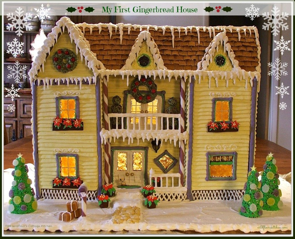 My First Gingerbread House Recipes Tips And Instructions Using My
