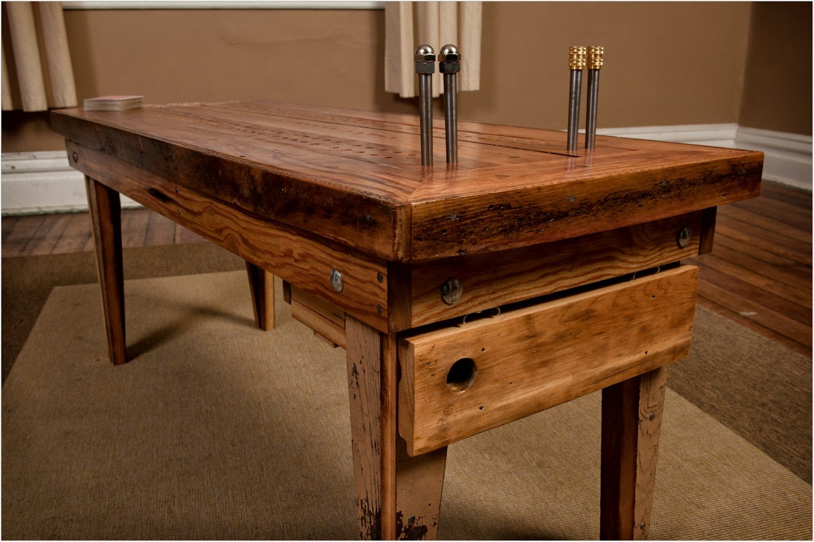 table templet of cards the cribbage board coffee table from rh pinterest com cribbage board coffee table template