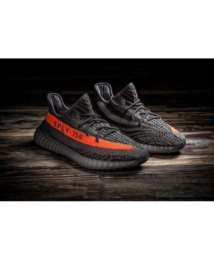 Adidas Yeezy Boost 350 V2 Womens Mens Red Dark Gray UK Sale  04e340045