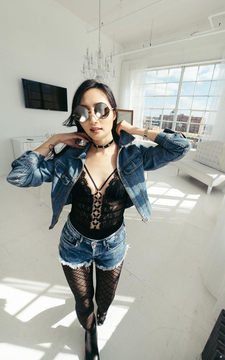 ada639a4670 How to Wear a Lace Bodysuit Out   Thistle and Spire Constellation Bodysuit    Of Leather