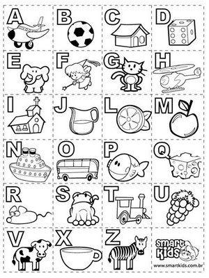 Spanish alphabet   Hojas de trabajo   Pinterest   Spanish alphabet ...