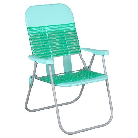 Jelly Folding Beach Chair Black White Room Essentials