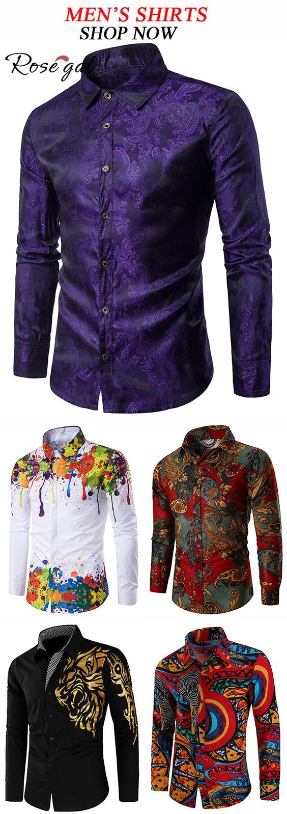Mens shirt fashion for spring and summer Rosegal mensfashion is part of food-recipes - food-recipes