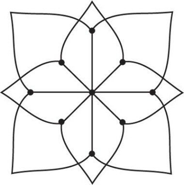 Simple Kolam A Kolam Is A Geometrical Line Drawing