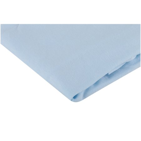 Jersey Knit 18 x 36 Cradle Sheet Fitted White Soft Breathable for Boys Girls New