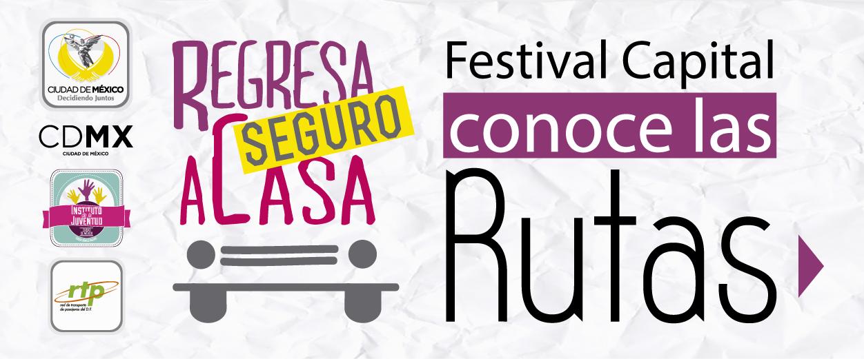 """Ubique las rutas del operativo """"Regresa Seguro a Casa"""" en: www.rtp.gob.mx"""