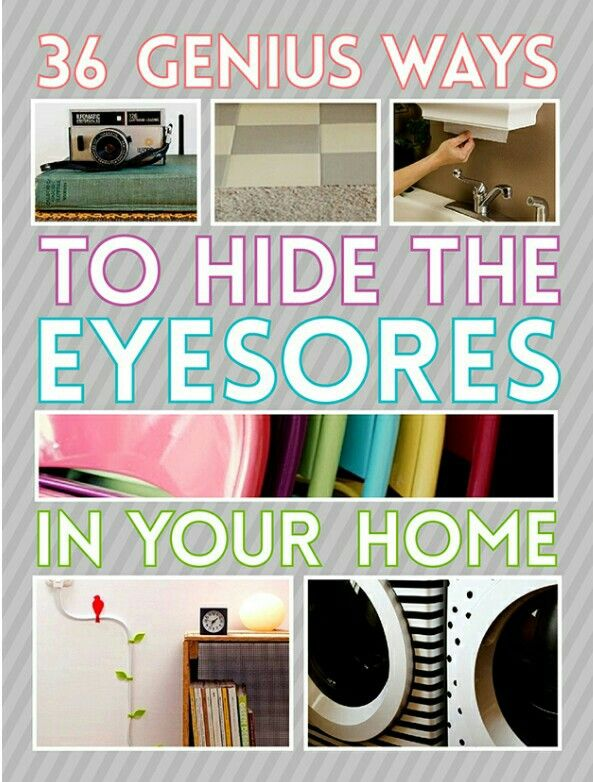 http://www.buzzfeed.com/peggy/genius-ways-to-hide-the-eyesores-in-your-home?s=mobile