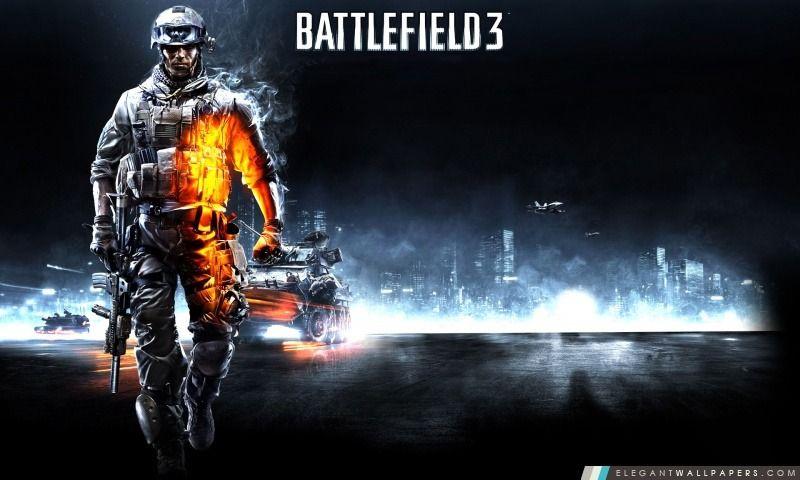 Battlefield Champ De Bataille Electronic Arts Fond Ecran Hd