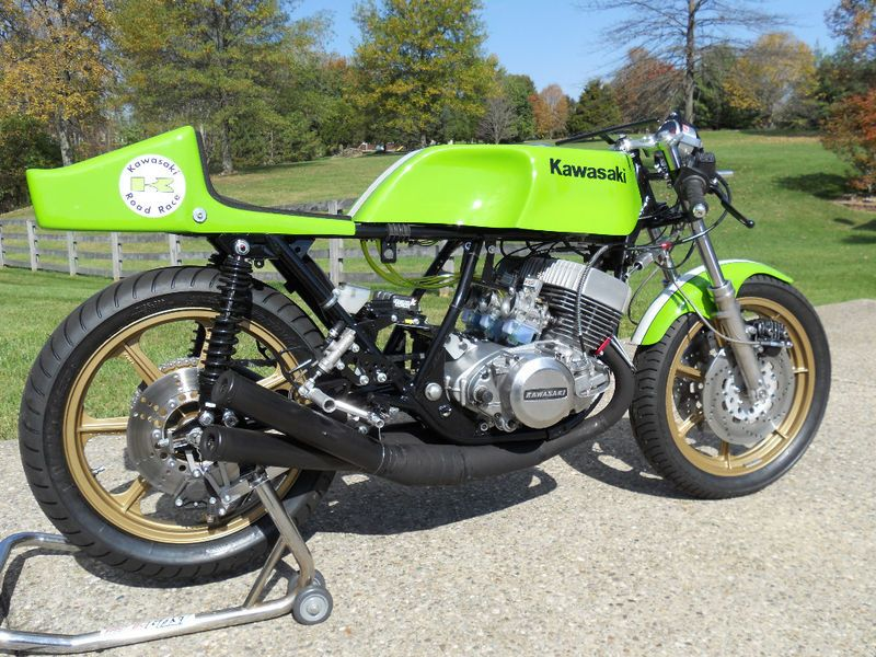 1973 kawasaki h2 road racer bikes cars. Black Bedroom Furniture Sets. Home Design Ideas