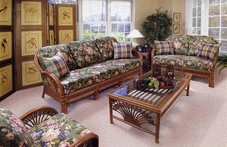 Granada Wicker Sunroom And Rattan Living Room Furniture