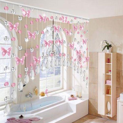 Luxury Crystal Glass Beads Curtain Living Room Bedroom Window Door