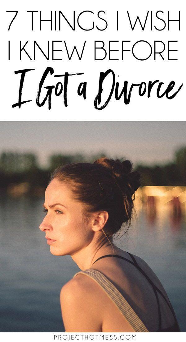 7 Things I Wish I Knew Before I Got A Divorce #divorce