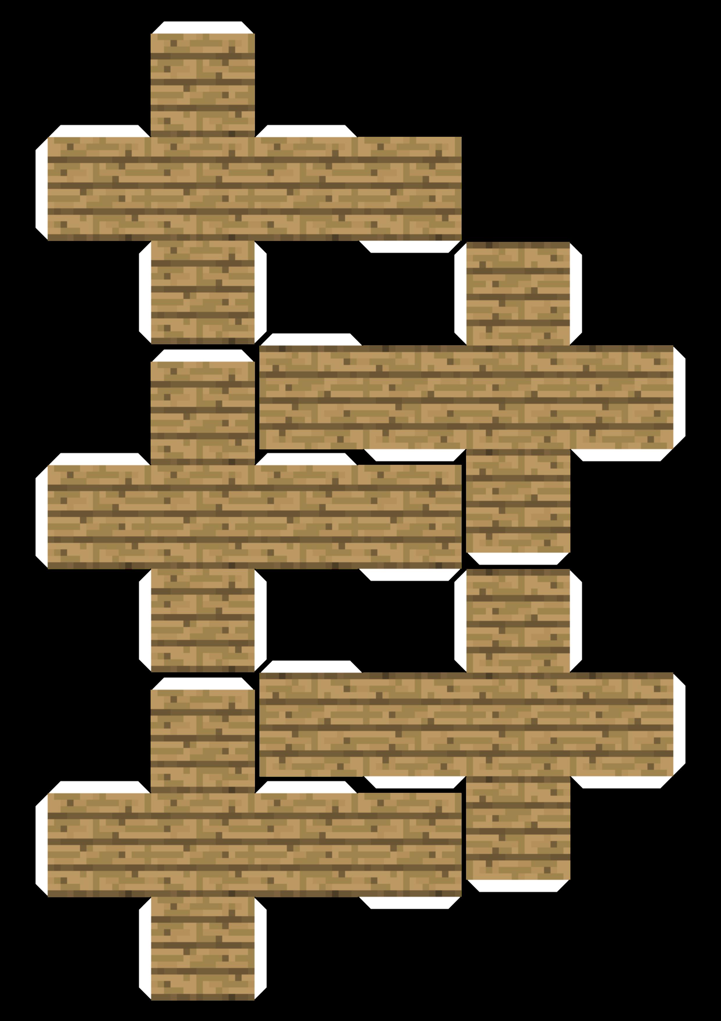 Картинки из майнкрафта сделанными из блоков