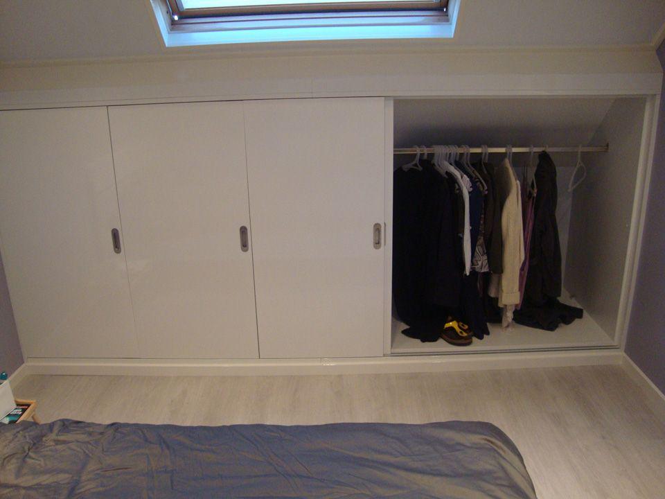 Beroemd kledingkast schuine wand ikea - Google zoeken | Zolder | Pinterest  SB03