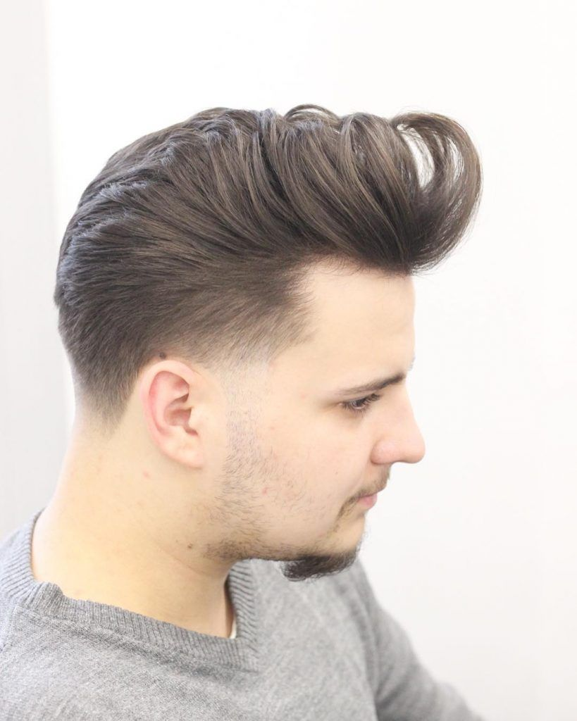 Taper fade with rollins pompadour fade haircuts pinterest fade