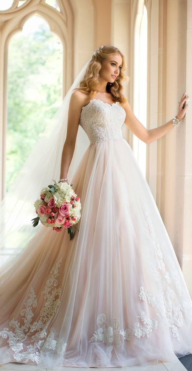 Blush Gowns Stella York Fall 2014
