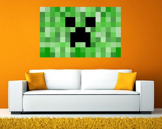 Best Minecraft Poster Giant Tiled Poster By 400 x 300