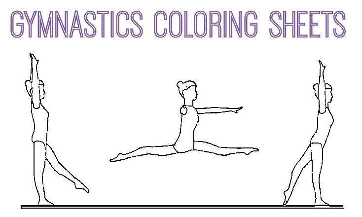 Gymnastics Coloring Pages Coloring Pages Gymnastics Gymnastics Skills