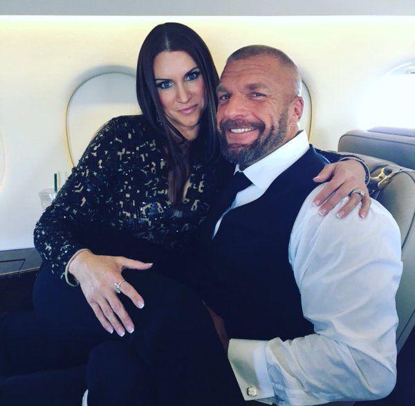 Michelle On  Triple H  Stephanie Paul Michael Levesque -3639