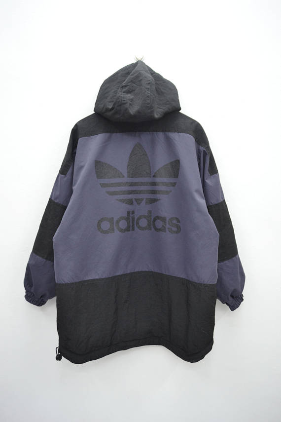 Activewear Jackets Frugal Vtg Adidas Jacket Womens Size Medium Track Running Fitness Black Hoodie Full Zip Women's Clothing