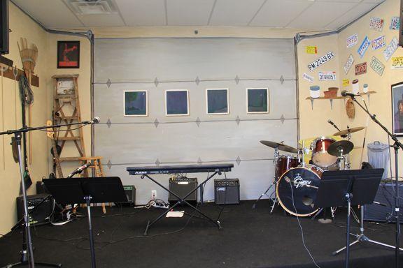 Garage music studio google search garage studio for Garage con studio