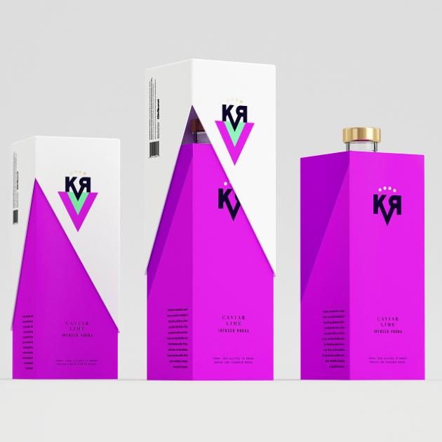 KVR Caviar cal espíritus Impregnado - El Dieline | Empaque & Marca Diseño y la Innovación Noticias